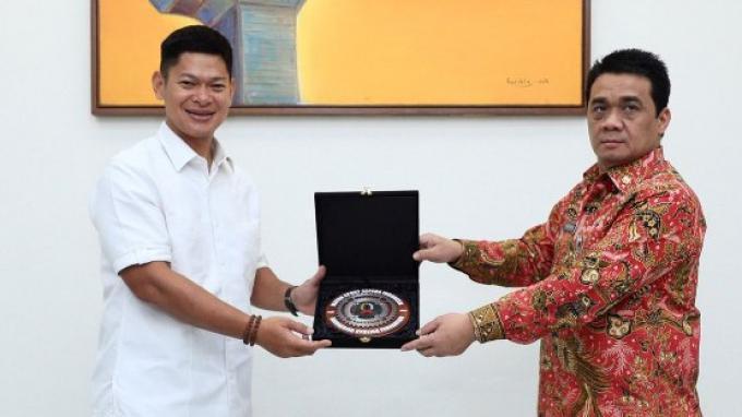 NOC Indonesia Audiensi Dengan Pemda DKI Jakarta Terkait Promosi Bidding Olimpiade 2032